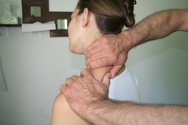 Nackenbehandlung zum wohlfühlen